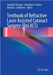 Cover Textbook of Refractive Laser Assisted Cataract Surgery (ReLACS)