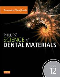 Cover Phillips' Science of Dental Materials