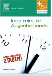Cover Last Minute Augenheilkunde