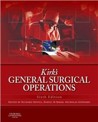 Cover Kirk's General Surgical Operations