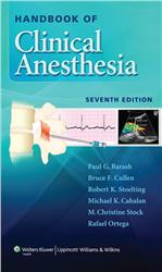 Cover Handbook of Clinical Anesthesia