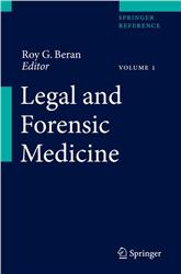 Cover Legal and Forensic Medicine / 2 Volumes