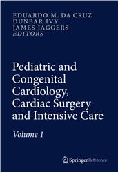 Cover Pediatric and Congenital Cardiology, Cardiac Surgery and Intensive Care - 6 Vol.