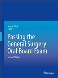 Cover Passing the General Surgery Oral Board Exam