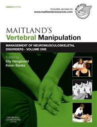 Cover Maitland's Vertebral Manipulation / with web access