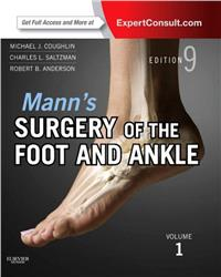 Cover Mann's Surgery of the Foot and Ankle
