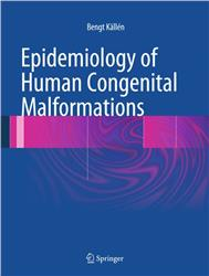 Cover Epidemiology of Human Congenital Malformations