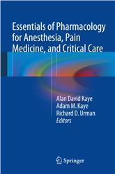 Cover Essentials of Pharmacology for Anesthesia, Pain Medicine, and Critical Care with Black Box Warnings