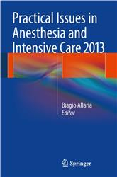 Cover Practical Issues in Anesthesia and Intensive Care 2013