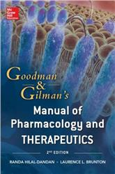 Cover Goodman and Gilman Manual of Pharmacology and Therapeutics