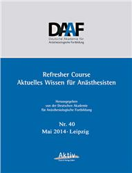 Cover Refresher Course Nr. 40