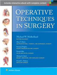 Cover Operative Techniques in Surgery - 2 Vols.