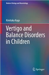 Cover Vertigo and Balance Disorders in Children