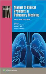 Cover Manual of Clinical Problems in Pulmonary Medicine