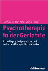 Cover Psychotherapie in der Geriatrie