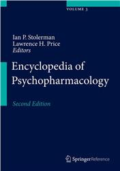 Cover Encyclopedia of Psychopharmacology