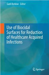 Cover Use of Biocidal Surfaces for Reduction of Healthcare Acquired Infections