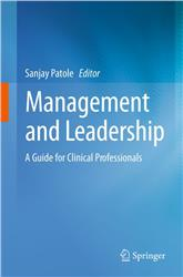 Cover Management and Leadership - A Guide for Clinical Professionals