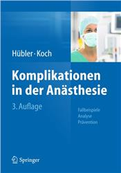 Cover Komplikationen in der Anästhesie