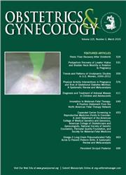 Cover Obstetrics and Gynecology