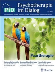 Cover Psychotherapie im Dialog - Paartherapie