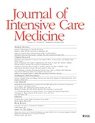Cover Journal of Intensive Care Medicine