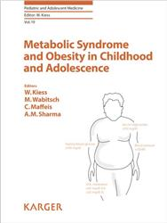 Cover Metabolic Syndrome and Obesity in Childhood and Adolescence