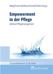 Cover Empowerment in der Pflege