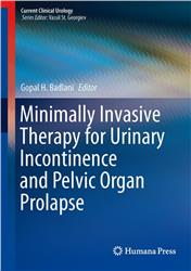 Cover Minimally Invasive Therapy for Urinary Incontinence and Pelvic Organ Prolapse