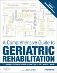 Cover A Comprehensive Guide to Geriatric Rehabilitation