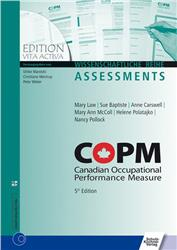 Cover COPM Canadian Occupational Performance Measure
