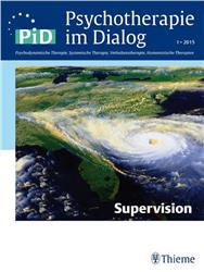 Cover Psychotherapie im Dialog - Supervision