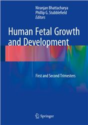 Cover Human fetal Growth and Development