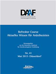 Cover Refresher Course Nr. 41