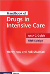 Cover Handbook of Drugs in Intensive Care: An A-Z Guide [With Charts]