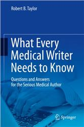 Cover What Every Medical Writer Needs to Know