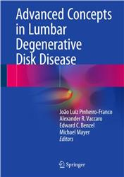 Cover Advanced Concepts in Lumbar Degenerative Disk Disease