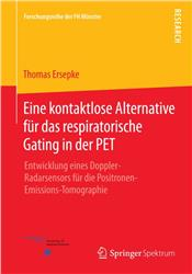 Cover Eine kontaktlose Alternative für das respiratorische Gating in der PET