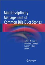 Cover Multidisciplinary Management of Common Bile Duct Stones