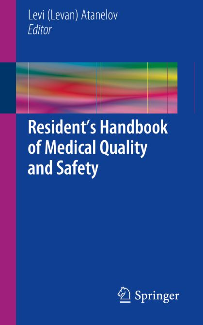Residents Handbook of Medical Quality and Safety
