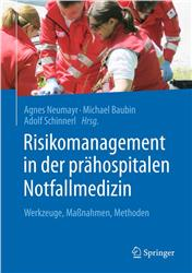 Cover Risikomanagement in der prähospitalen Notfallmedizin
