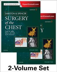 Cover Sabiston & Spencer Surgery of the Chest. 2 Volumes