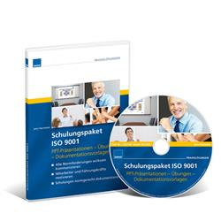 Cover Schulungspaket ISO 9001 / CD-ROM