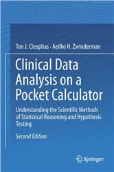 Cover Clinical Data Analysis on a Pocket Calculator