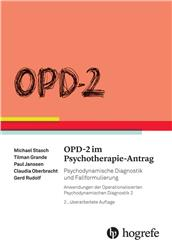Cover OPD-2 im Psychotherapie-Antrag