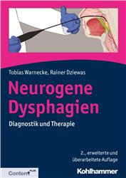 Cover Neurogene Dysphagie / mit Content Plus Online Zugang