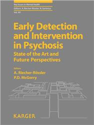 Cover Early Detection and Intervention in Psychosis
