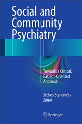 Cover Social and Community Psychiatry