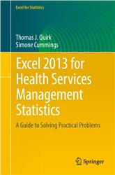 Cover Excel 2013 for Health Services Management Statistics