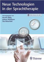 Cover Neue Technologien in der Sprachtherapie